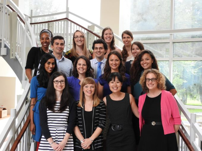 2014-15 Intern class with Dr. Waxenberg